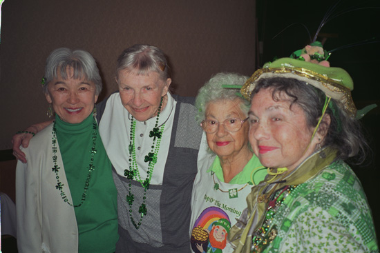 Attendees at the 2011 Saint Patricks Day Luncheon