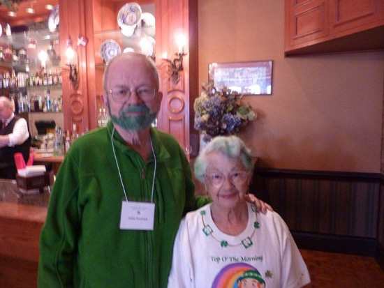Attendees at the 2013 Saint Patricks Day Luncheon