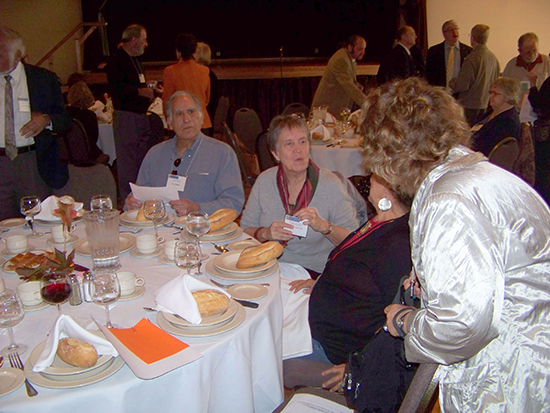 Attendees at the 2014 thanksgiving luncheon
